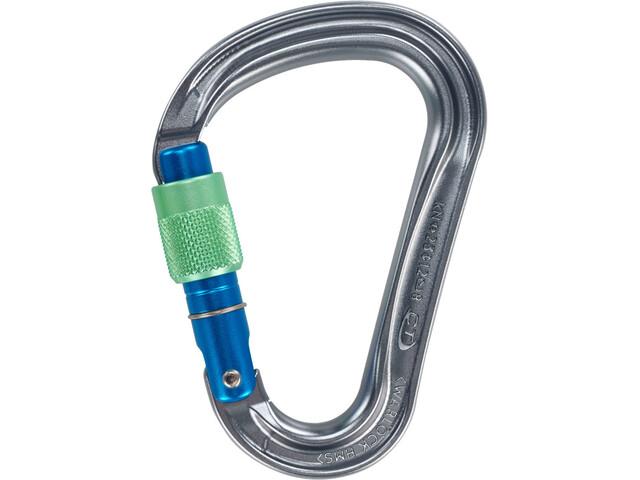 Climbing Technology Warlock Carabiner grey/blue/green
